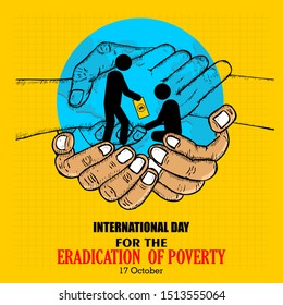 International day for the eradication of poverty, banner