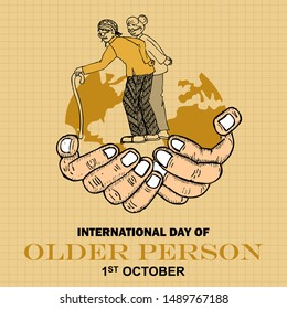 International Day Of Older Persons, banner