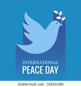 International Day of Peace. Vector illustration.