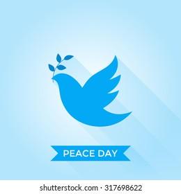 International Day of Peace. Vector illustration.