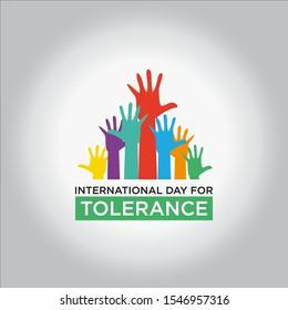 International Day for Tolerance design template