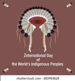 International Day of the Worlds Indigenous Peoples banner