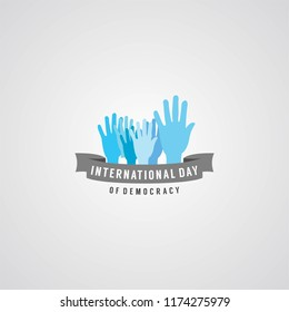 International of Democracy Day Design Template