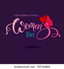 International Happy womens day 8 march