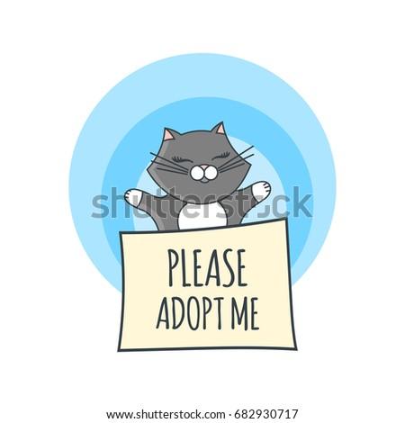 International Homeless Animals Day Illustration Vector Stock Vector ...