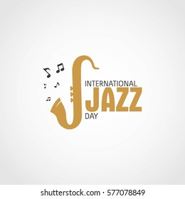 International Jazz Day Vector Illustration.