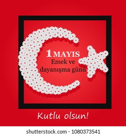 International Labor Day on May 1. Turkish: Labor and solidarity day,