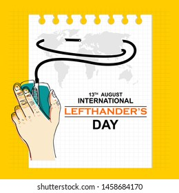 International Lefthanders Day, August 13