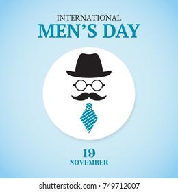International Men's Day card.