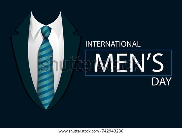International Men's day design. Vector illustration