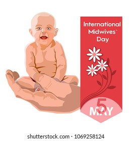 International Midwives day - postcard, poster or banner