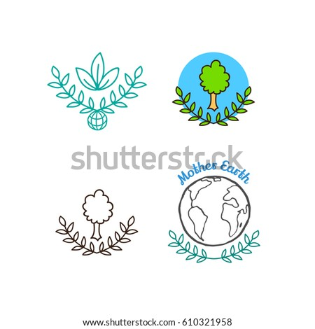 International Mother Earth Day April 22 Stock Vector Royalty Free