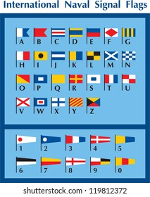 International Naval Signal Flags