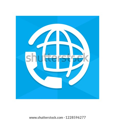 International Number App Icon Stock Vector (Royalty Free) 1228596277
