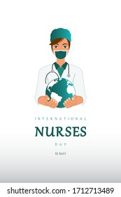 International Nurses Day, World Nurse Day, Nurse, International Midwives Day, Fight Corona.
