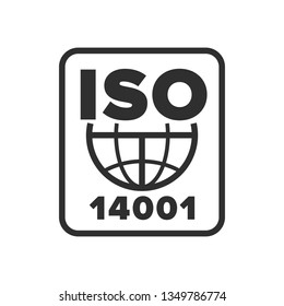 International Organization for Standardization 14001 symbol