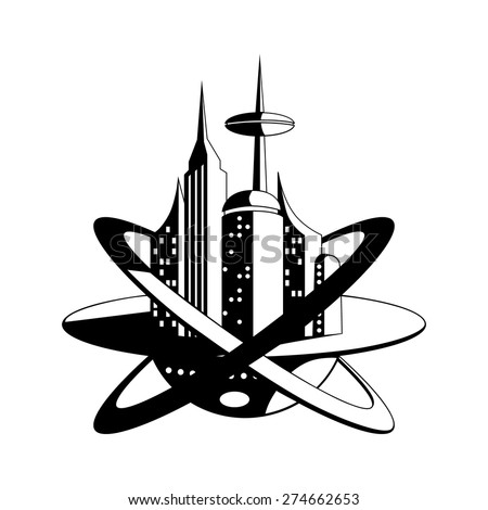 International Space Station Future Vector Icon Stock Vector Royalty