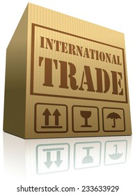 international trade global transport import and export in world economy