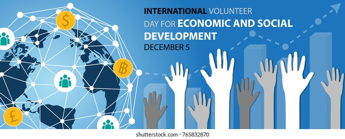 International Volunteer Day for Economic and Social Development Background