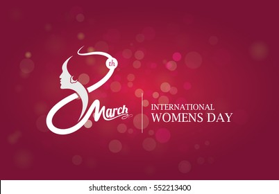 international Womens Day Celebration Template Design