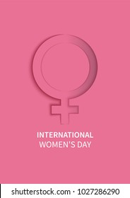 International Women's Day. The Holiday of All Women on March 8