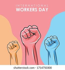 International Workers day color full