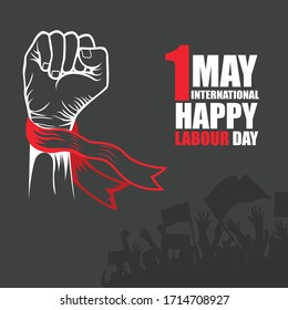 International workers day, Power Hand