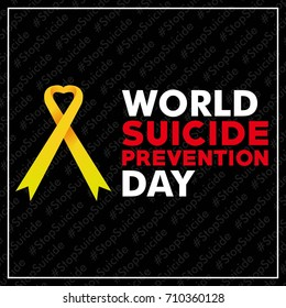 International Or World Suicide Prevention Day Postermemesocial Media Posting Background