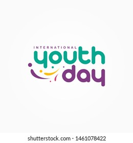 International Youth Day Vector Template