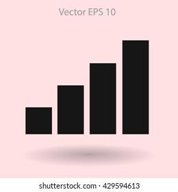 Internet access at full capacity vector icon