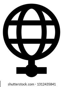 Internet Access Web Terminal Vector Icon