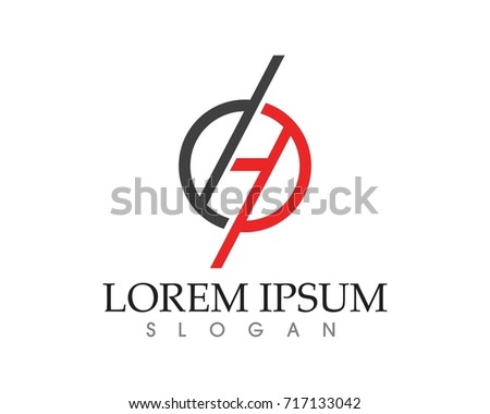 Internet Cable Logo Symbols Template Icons Stock Vector Royalty