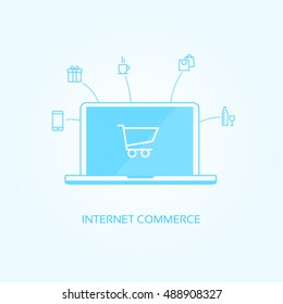 Internet Commerce Icons