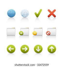 Internet and Communications Icon Set
