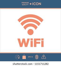 Internet connection symbol icon