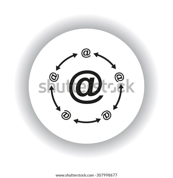 Internet e-mail. icon. vector design