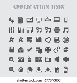 internet Icons Vector set