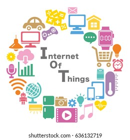 Internet of Things icon. Cloud computing design concept.
