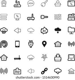 internet vector icon set such as: disconnect, always, server, telephone, pointing, browser, help, mortgage, mark, logo, keyword, customer, 247, gesture, volume, infrastructure, smart, broken, travel
