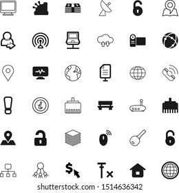 internet vector icon set such as: communicate, call, gradient, info, attention, radar, film, no, hierarchy, share, tower, bench, analyse, upload, cinema, science, template, verified, send, center
