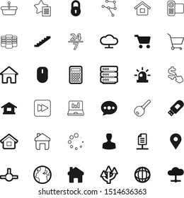 internet vector icon set such as: keyword, human, player, pc, cost, urgency, transportation, usb, cursor, sound, content, camera, wifi, success, profession, seo, financial, graph, control, per, clock