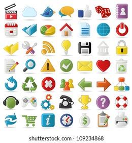 Internet, Website icons Set