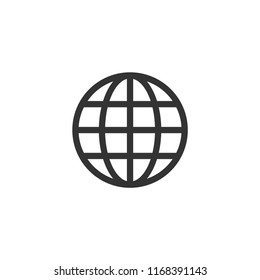 Internet world vector