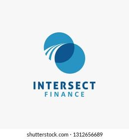 Intersect business logo design