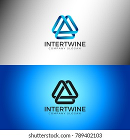 Intertwine - Abstract Infinity Logo Template