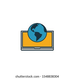 Intranet icon. Simple element from icons collection. Creative Intranet icon ui, ux, apps, software and infographics.