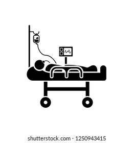 Intravenous Patient Icon
