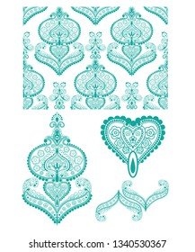 Intricate Indian pattern. Perfect for all craft projects.