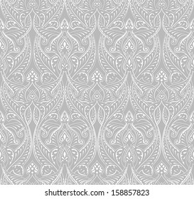 An intricate vintage seamlessly tilable repeating Islamic motif pattern