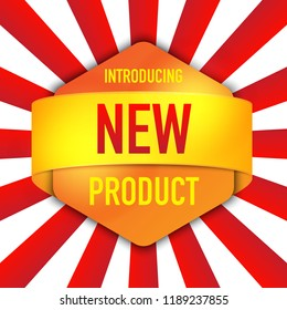introducing new product background design
